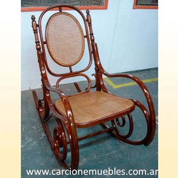 Mecedora thonet restaurada