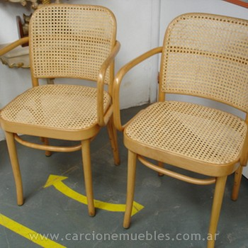 Sillones thonet oval